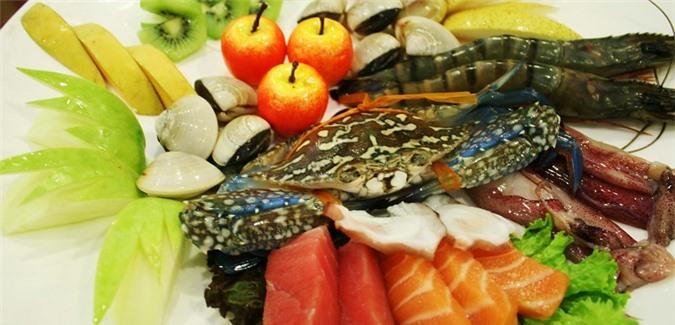 Khử mùi tanh của hải sản