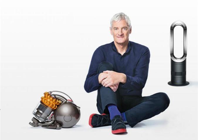 Tỷ phú James Dyson - người được mệnh danh là 'Edison' của thời hiện đại.