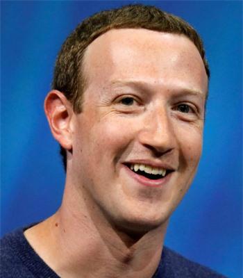 Ông chủ mạng xã hội Facebook - tỷ phú Mark Zuckerberg