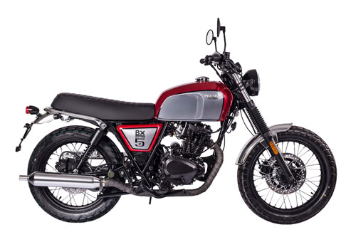 Brixton BX Classic 125cc.