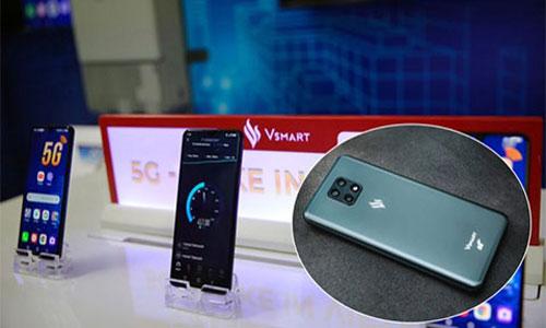 Vsmart Aris 5G ra mắt với thiết kế hiện đại, chạy chip Snapdragon 765, 8GB RAM, pin 4000mAh