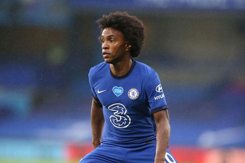 Tiền vệ phải: Willian (Chelsea).