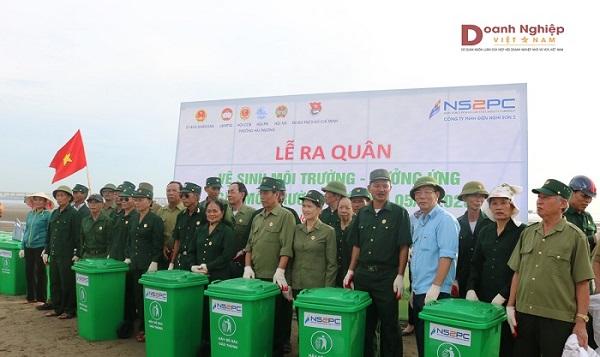 Lễ ra quân hưởng ứng Tuần lễ Quốc gia về Nước sạch và vệ sinh môi trường