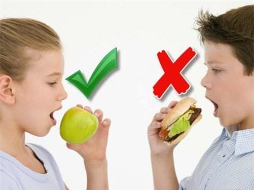 Thực phẩm càng ăn càng giảm thông minh không tốt cho trẻ