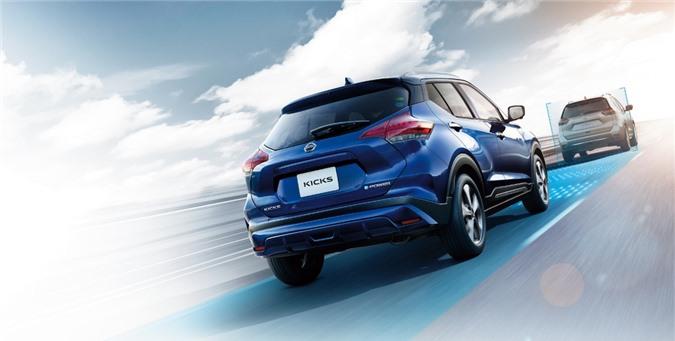 Nissan Kicks 2021 ra mat thi truong Nhat Ban anh 5