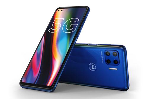 Motorola Moto G 5G Plus.