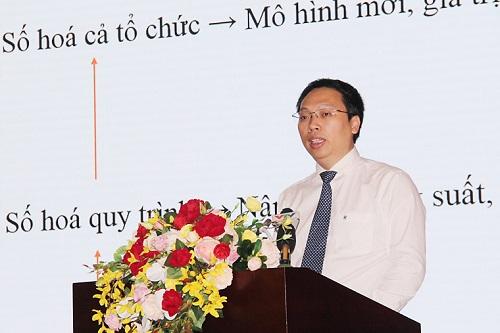 Ông Nguyễn Huy Dũng, Cục trưởng Cục Tin học hóa.