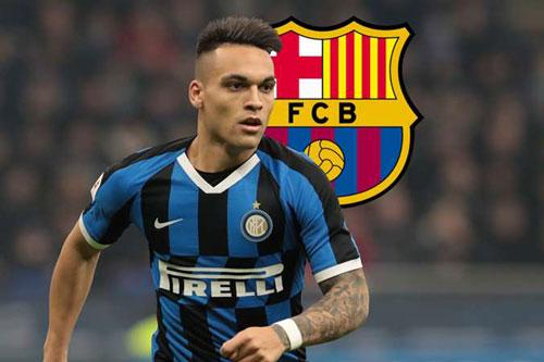 Chuyển nhượng: Barca muốn Inter giảm giá bán Lautaro Martinez