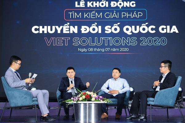 Viet Solutions 2020 có mục tiêu tìm kiếm các giải pháp sáng tạo, giúp giải quyết các vấn đề xã hội, góp phần thực hiện chiến lược chuyển đổi số quốc gia.