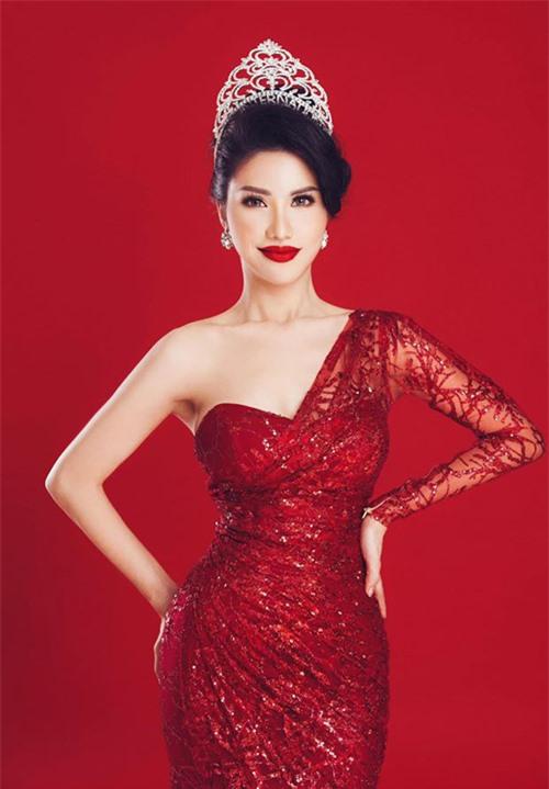 Hoa hậu Quý bà Quốc tế 2018 Loan Vương.