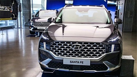 Hyundai SantaFe N Performance Kit 2021 xuất hiện với kiểu dáng hầm hố, giá 'ngon' khiến fan mê mẩn