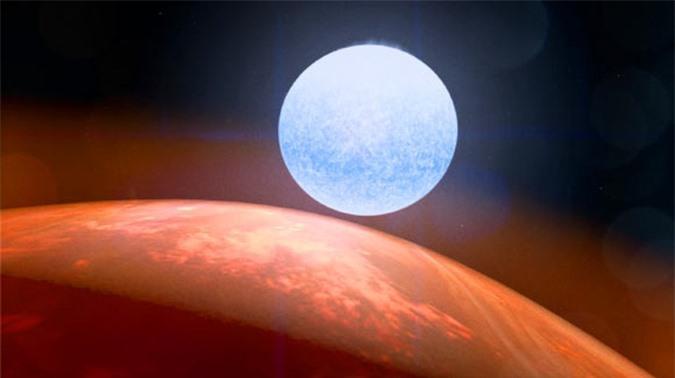 Phát hiện hành tinh xuyên không nặng gấp 922 lần Trái Đất - Ảnh 1.