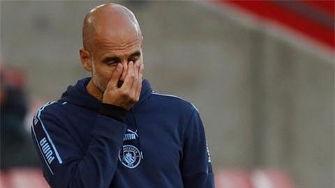 Số trận thua của Man City mùa này còn nhiều hơn cả M.U, Arsenal và Wolves