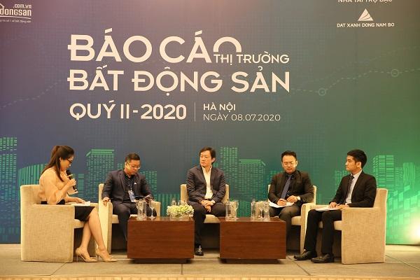 công bố báo cáo thị trường bất động sản quý 2/2020 do Batdongsan.com.vn tổ chức