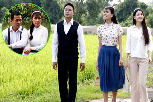 Vợ chồng Thế Thành, Thanh Duy hội ngộ trên màn ảnh