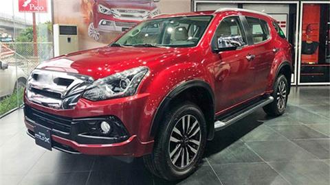 Đối thủ siêu hầm hố của Hyundai Santa Fe, Toyota Fortuner, Mazda CX-8 giảm giá cực mạnh tại VN