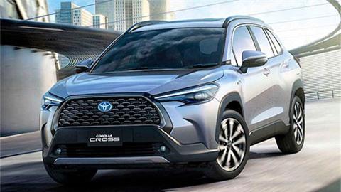 Toyota Corolla Cross 2021 ra mắt với kiểu dáng hầm hố, động cơ hybrid, giá mềm 'đấu' Honda HR-V, Mazda CX-30
