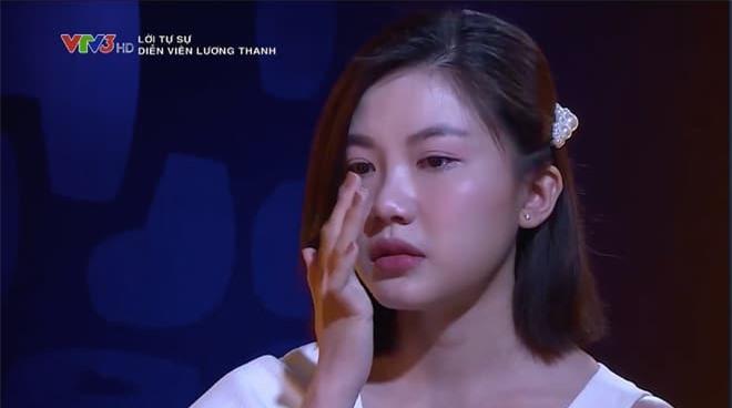 Diễn viên Lương Thanh khóc khi bị bình luận 'đổi tình lấy vai' 0