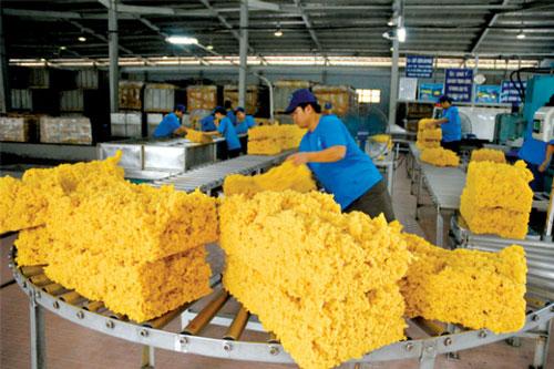 Xuất khẩu cao su 6 tháng giảm mạnh, chỉ đạt hơn 600 triệu USD