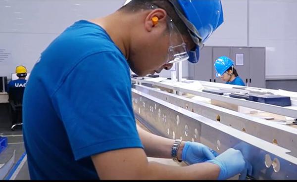 Đà Nẵng: Nhà máy sản xuất linh kiện hàng không vũ trụ UAC (Mỹ) hoàn thành giai đoạn 1