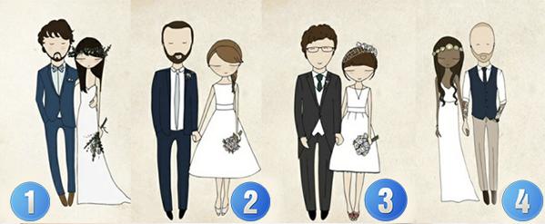 Bạn thích cặp đôi nào?