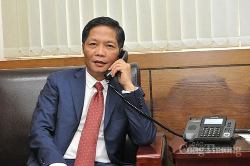 Bộ trưởng Bộ Công Thương Trần Tuấn Anh điện đàm với Bộ trưởng Bộ Chính sách Kinh tế và Tài khóa Nhật Bản Nishimura Yasutoshi.