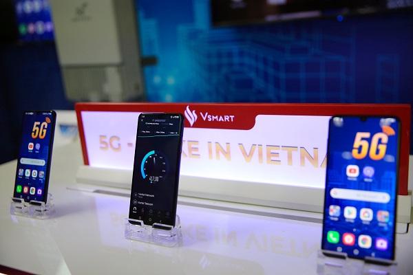 VinSmart công bố mẫu điện thoại thông minh Vsmart Aris 5G