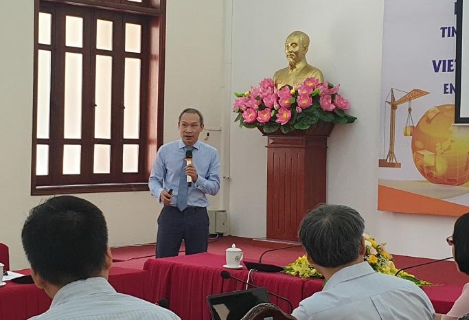 Ông Phan Đức Hiếu, Phó Viện trưởng CIEM cũng phân tích những điểm mới đáng chú ý trong luật doanh nghiệp 2020