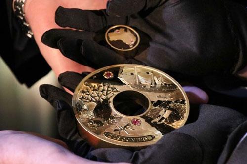 Đồng tiền 'báu vật' đắt nhất trong lịch sử Australia trị giá 1,8 triệu USD
