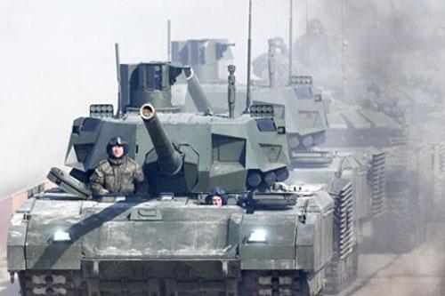 """Xe tăng T-14 Armata đã """"trưởng thành"""""""