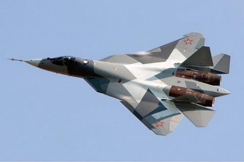Tiêm kích tàng hình Su-57 của Nga. Ảnh: Avia-pro.