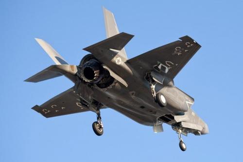 Tiêm kích tàng hình F-35B Lightning II của Mỹ. Ảnh: Lockheed Martine.