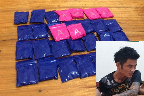 Nghệ An: Đi xe máy phân khối lớn vận chuyển ma túy về xuôi
