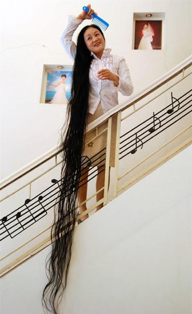 """Những kỷ lục """"khủng"""" nhất về tóc - 6"""