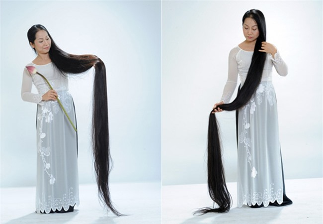 """Những kỷ lục """"khủng"""" nhất về tóc - 9"""