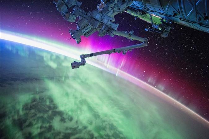 Vẻ đẹp bất tận của Trái Đất trong bộ ảnh được chụp từ vũ trụ - 3