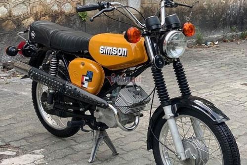 Chiêm ngưỡng chiếc Simson S51 một thời phiên bản Enduro thuộc đời 1989 có giá 150 triệu đồng