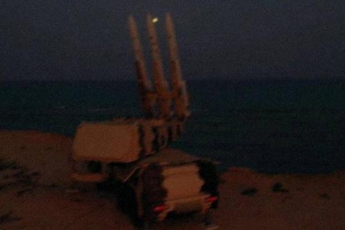 Tổ hợp phòng không Khordad-3 của Iran theo báo cáo đã có mặt tại Syria. Ảnh: Al Masdar News.