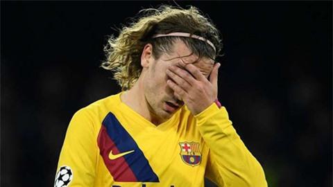 Griezmann nguy cơ nghỉ hết mùa, Barca méo mặt đua vô địch cùng Real