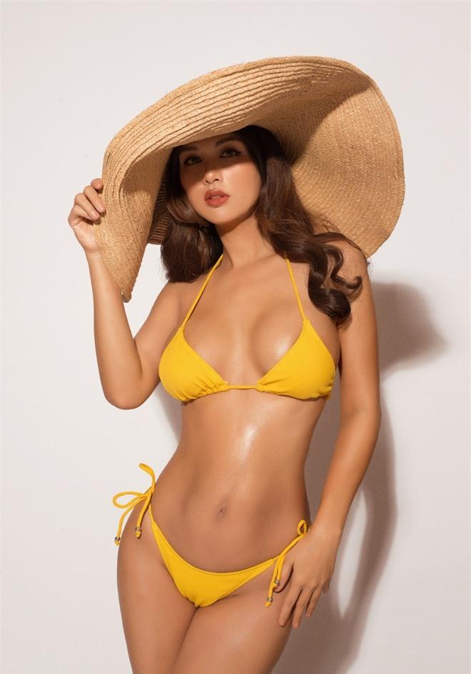 Vẻ đẹp gợi cảm của hoa hậu đông con nhất showbiz Việt