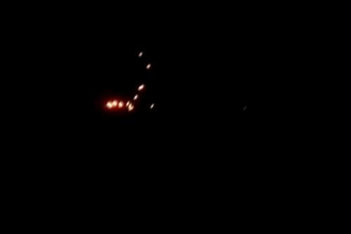 Tên lửa phòng không Nga đánh chặn máy bay không người lái đối phương. Ảnh: Avia-pro.