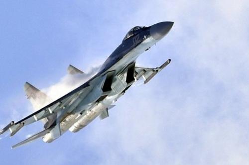 Tiêm kích Su-35S của Không quân Nga. Ảnh: Avia-pro.