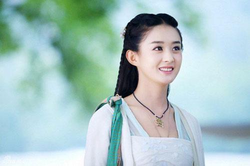 Triệu Lệ Dĩnh đã vượt qua nhiều gương mặt đàn chị như Tôn Lệ, Lưu Đào trở thành