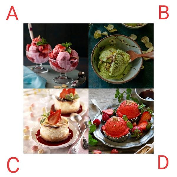 Bạn chọn món kem nào?