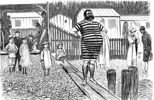 Nhìn lại lịch sử chật vật của áo tắm - 2