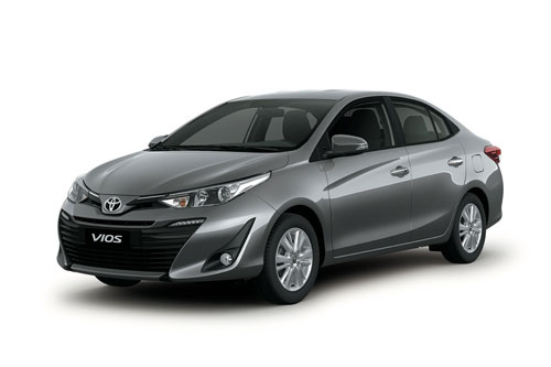 1. Toyota Vios (doanh số: 11.244 chiếc).