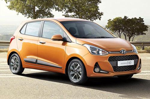 3. Hyundai Grand i10 (doanh số: 6.414 chiếc).