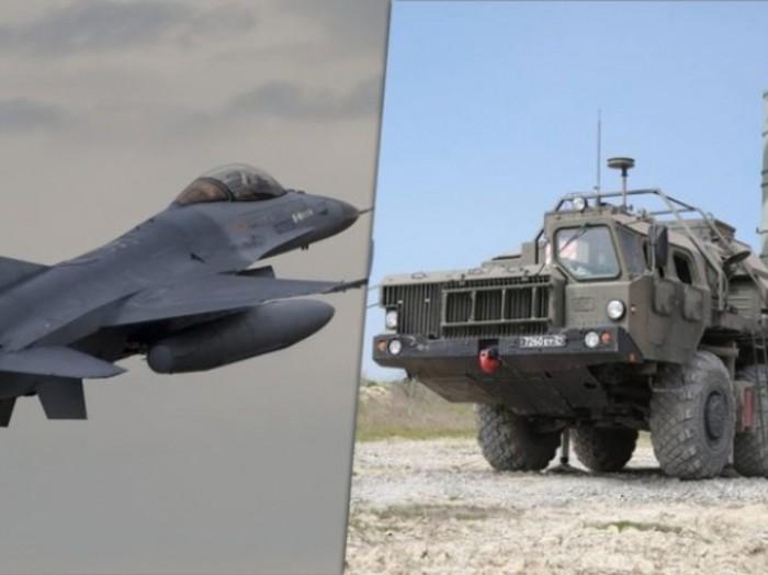 Radar tên lửa S-400 phát hiện rõ tiêm kích F-16 bất chấp các kiểu ẩn nấp