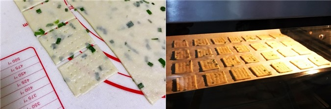 4 bước đơn giản làm bánh quy cracker giòn xốp hấp dẫn để dành ăn dần - Ảnh 4.