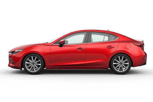 8. Mazda3 (doanh số: 3.789 chiếc).